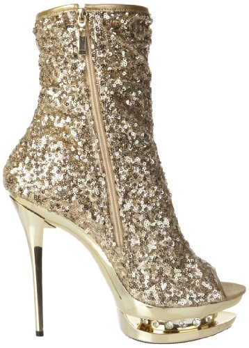 Pleaser Blondie R 1008, Stivaletti Donna Oro (Gold (Gold Sequins/Gold Chrome))