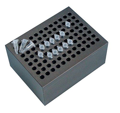 Witeg Heizblock BLC596 96 Löcher für 0.2ml PCR-Reaktionsgefäße, Ø6x15,5mm, konischer Boden, für Blockthermostat HB-48/-96/R-48