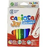 Carioca A11100012 - Pack de 12 rotuladores