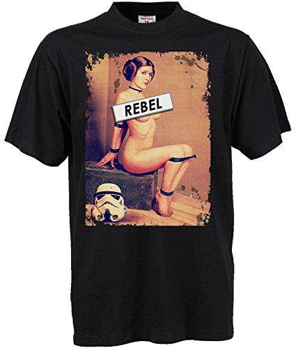 adrotes-Rebel-Leia-Filmfan-T-Shirt-Gr-S-5XL
