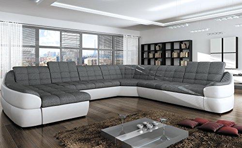 Couchgarnitur INFINITY XL U Sofa mit Schlaffunktion Couch Polsterecke Ecksofa