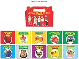 Lovely Board Books: Gift Pack (Set of 10 Books)