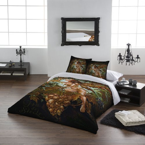 Wild Star 'Fin de Siecle' Double Bed Duvet Cover Set