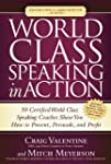 World Class Speaking in Action: 50 Ce...