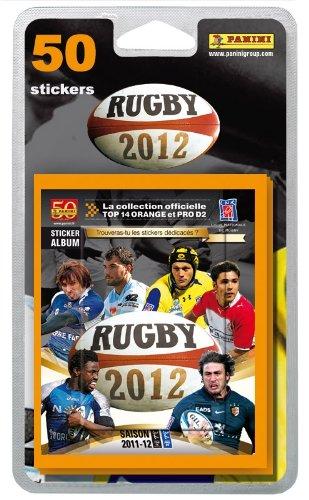 Panini - 1740-038 - Jeu de Société - Rugby 2012 - Blister de 10 Pochettes - Stickers