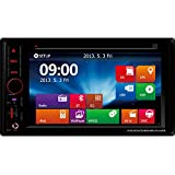 BEIDOUYH CVD6805S3 6.2 inch Car DVD Player Receivers with Double DIN Touch Screen and Easy Link Bluetooth Handsfree MP3 USB SD Radio AM/FM