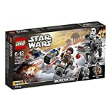 LEGO Star Wars 75195 - Ski Speeder vs. First Order Walker Microfighters, Spielzeug -