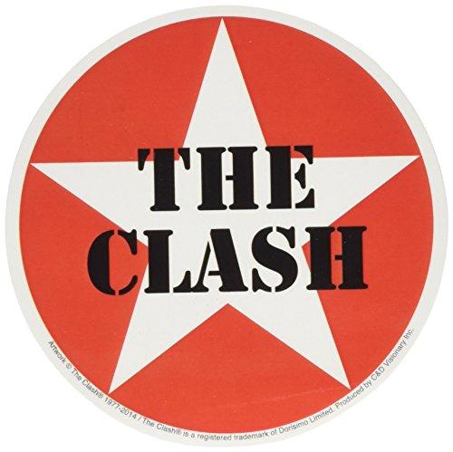 THE CLASH Star Logo, Officially Licensed Original Artwork, Premium Quality, 4