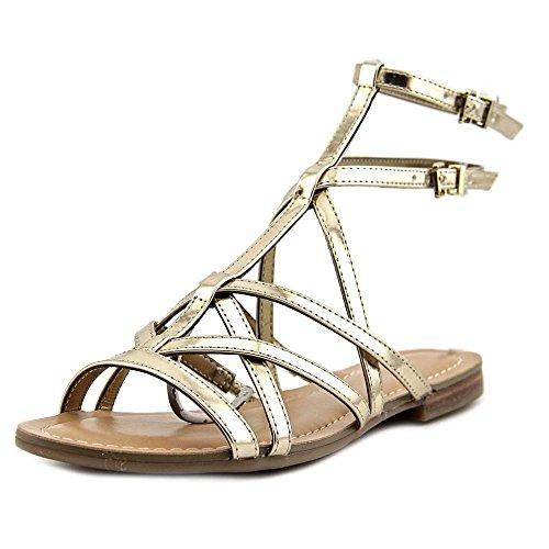 Guess Mannie Synthétique Sandales Gladiateur gold