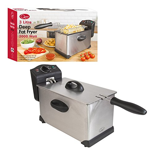 An image of the Quest Stainless Steel Deep Fat Fryer, 3 Litre
