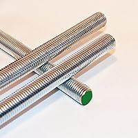 1 Gewindestange, M10 , 1000 mm lang , Edelstahl , A2 , DIN 975/976