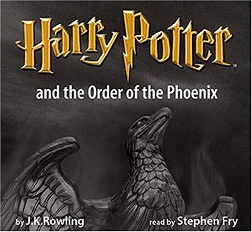 Harry Potter and the Order of the Phoenix: vollständig gelesen von Stephen Fry, Adult Cover