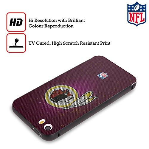 Ufficiale NFL Righe 2017/18 Washington Redskins Nero Cover Contorno con Bumper in Alluminio per Apple iPhone 6 Plus / 6s Plus LED