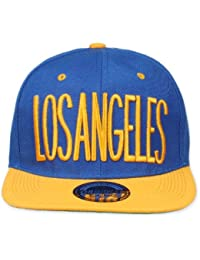 Original Snapback (one size, Los Angeles City Blau / Gelb) + Original MY CHICOS Sticker