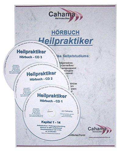 Hörbuch - Heilpraktiker - 3 CDs mit MP3-Audiodateien - Selbststudium