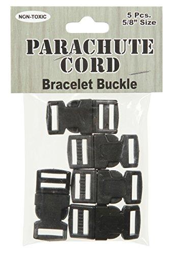 parachute-cord-bracelet-buckles-15mm-5-pkg-black