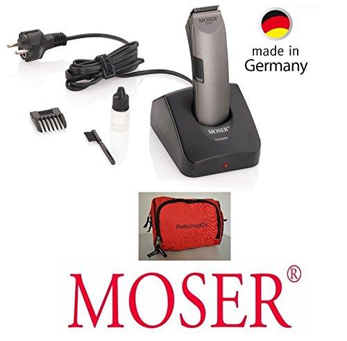 Rotschopf24 Edition: Professioneller Moser Akku Trimmer / Pfotentrimmer (und Gesicht) + Tasche....