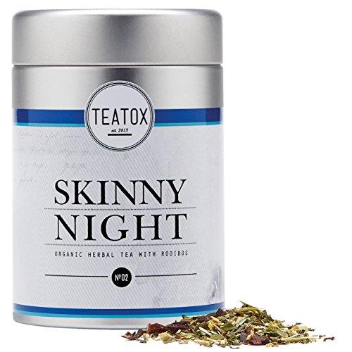 TEATOX Skinny Detox Organic Night, thé infusion Bio, 50g
