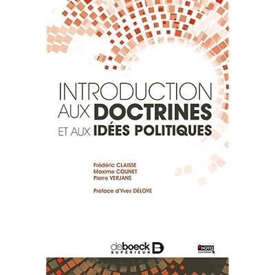 Introduction aux doctrines politiques : Approche structurale