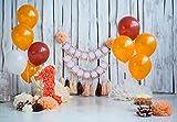 WaW 2.2x1.5m Foto Hintergrund Baby Mädchen 1. Geburtstag Weiße Holz Ballon Hintergründe Foto Kulisse für Kuchen-smash Fotoshooting