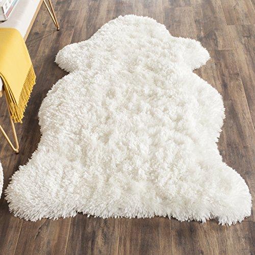 Elfenbein-schlafzimmer-möbel (Safavieh Tegan handgetufteter Teppich, SG270A, Elfenbein, 91 X 152  cm)