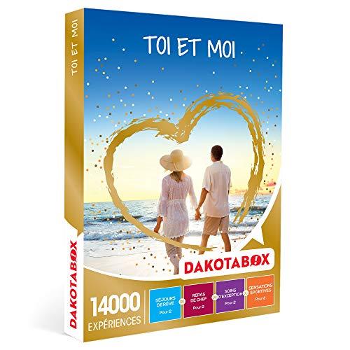 DAKOTABOX - Toi et moi - Coffret Cadeau Multi-thèmes - 1 séjour ou 1 activité...