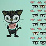 Stoffonkel / Bio Jersey Milli Melony Mint / 60x170 cm/Panel