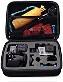 BV & Jo Travel Portable Shockproof Storage Protective Carry Case Bag for GoPro Hero 2 3 3+ 4 & Camera Accessories (Medium)