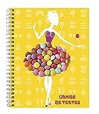 Exacompta cuaderno de textos en espiral Candy amarillo