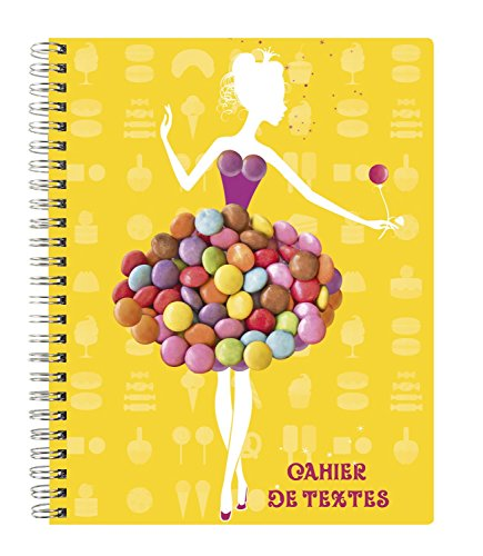Exacompta Notebook Spiral Candy Yellow