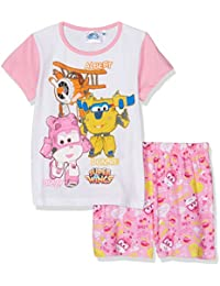 Disney Super Wing Qe2227-Pink, Pyjamas Fille