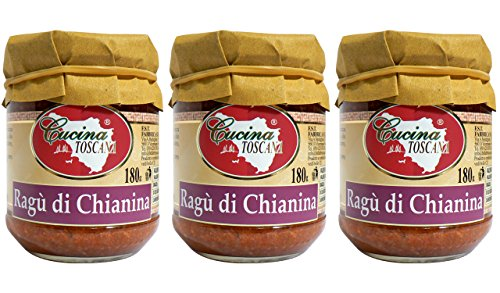 Ragù di Chianina - 180g x 3 Vasetti