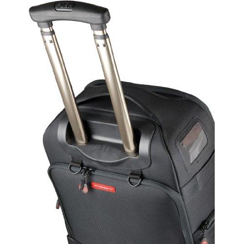 Nest Athena A100-Braun-Professionelle Rolling Kameratasche/Foto Roller Bag/mit Rollen für DSLR/SLR Rucksack mit Ziehen Geschirr
