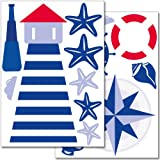 Wandkings Maritim Wandsticker Set