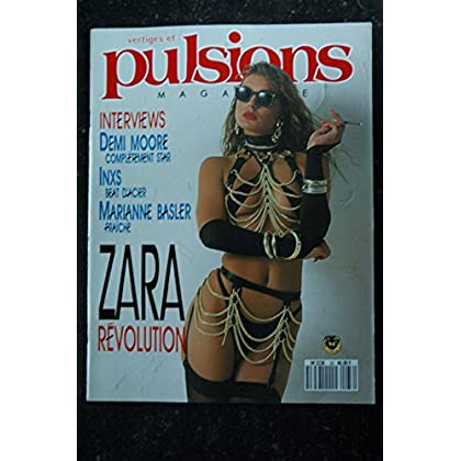 PULSIONS 33 DEMI MOORE INXS MARIANNE BASLER ZARA WHITES ALL NUDES MARIA VENTURA