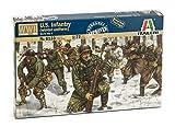 Italeri 510006133 - 1:72 WWII United States Infanterie Winteruniform, Plastikbausatz