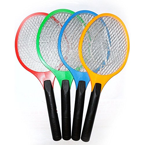 BJE Mosquito Killing Racket ,Yellow