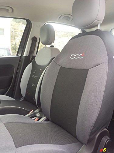 autoSHOP 354/R Fodera Coprisedile con Sedile Posteriore Diviso Set Completo No Braccioli Anteriori e Posteriori