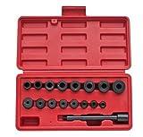 vidaXL 18tlg. Zentriersatz Zentrierdorn Werkzeug Kupplungssatz Zentrierwerkzeug