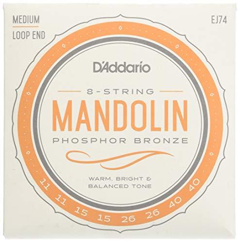 D`Addario Mandolinen Saiten Satz für Mandoline