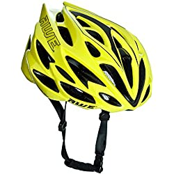 AWE® AWESpeedTM Remplacement DE Crash Gratuit 5 Ans * Moule Adulte Hommes en Cyclisme sur Route Casque 55-58cm Neon