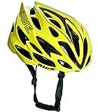 AWE® AWESpeed™ Sostituzione di Crash Gratis 5 Anni * nello Stampo di Ciclismo su Strada Uomini Adulti Casco Neon 58-61cm