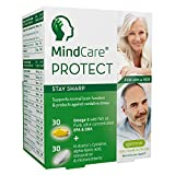 Best Brain Memory Supplements - MindCare Protect Memory Supplement with Omega-3, Alpha Lipoic Review