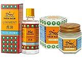 Tiger Balm Liniment (Liquid) 28ml + Tiger Balm White Ointment 30g/Jar