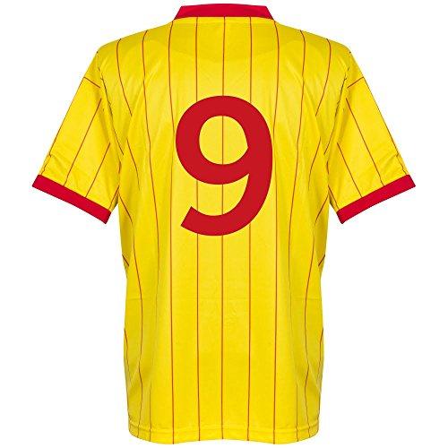 1982 Liverpool Away Retro Trikot + No9 - S