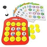 E-More Giocattoli per l'apprendimento precoce, Gioco per Puzzle Memoria Fai-da-Te per Bambini Gioco di Arte per Bottoni Early Learning, Arte per Bottoni per Ragazzi e Ragazze