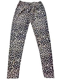 Niñas Niños Plain floral impreso Zebra Impreso Leopardo Impreso Leggings pantalones