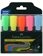 Faber-Castell Textliner - Pack of 5 (Assorted)