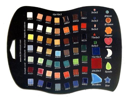 Nuancier ALEA Mosaïque, et toutes les forme micros (3mm)