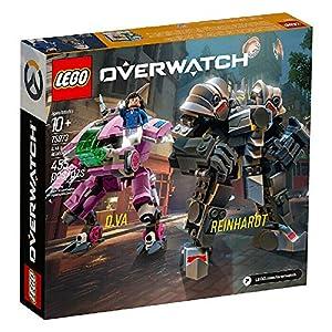 Lego 75973 Overwatch Reinhardt e D.VA  LEGO